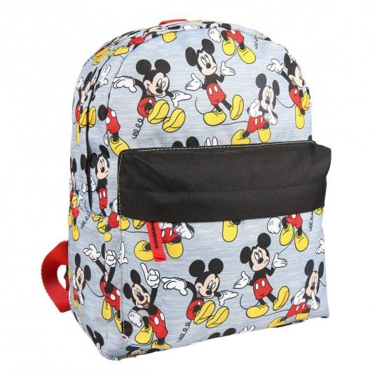 Rucsac Cerda Mickey Mouse cu buzunar frontal, 26x32x12 cm