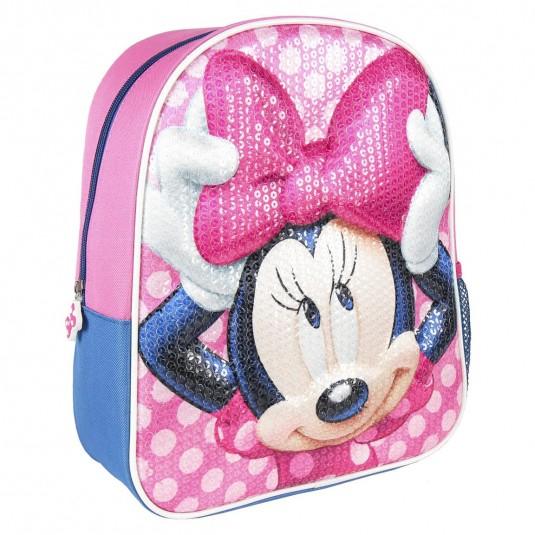 Rucsac Cerda Minnie Mouse 3D Premium, 25x31x10 cm
