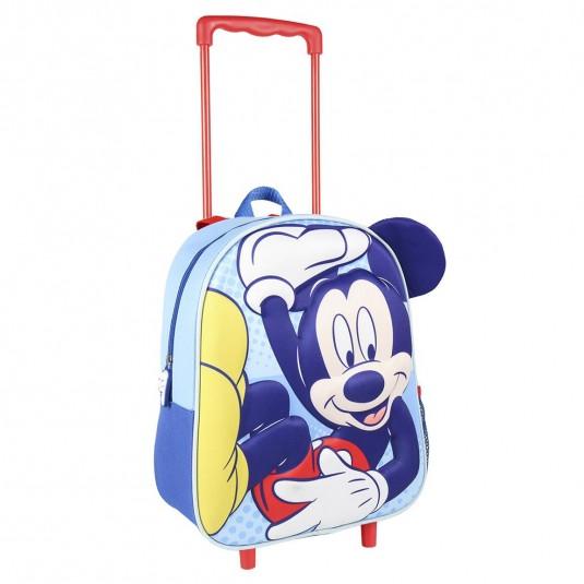 Troler Cerda Mickey Mouse 3D, 26 x 31 x 10 cm