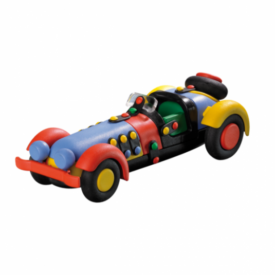 Jucarie de construit mic-o-mic 3D Masina sport 089.016, 20.3 cm